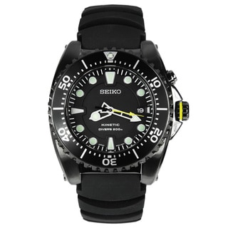 Seiko Men's Diver's Black Watch