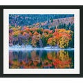 Gary Crandall 'Autumn Lake' Framed Matted Art Print