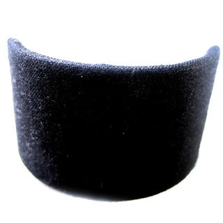 Black Cotton Ponytail Hair Clip