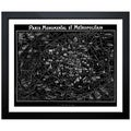 Oliver Gal Artist Co. 'Paris Metropolitain Map 1920' Framed Art Print