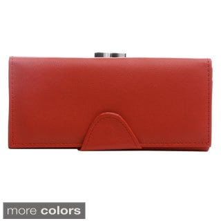 J. Furmani Solid Accordion-style Structured Wallet