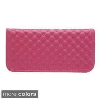 J. Furmani Tufted Leatherette Fashion Wallet