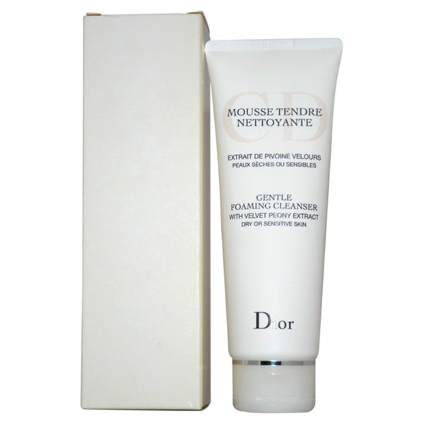 Dior Gentle Foaming 4.5-ounce Cleanser for Dry or Sensitive Skin