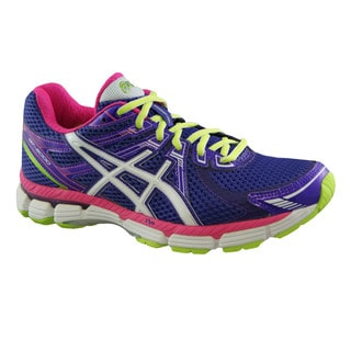 Asics Women's 'GT 2000' Grape/ Hot Pink Running Shoes