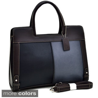 Dasein Colorblocked Structured Satchel