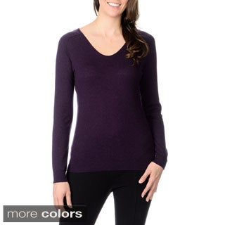 Ply Cashmere Women's Scoop Neck Sweater