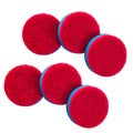 Quickie Scourer Pad Refills for Household Power Scrubber (Set of 6)