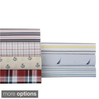 Nautica Wrinkle-resistant Printed Sheet Set