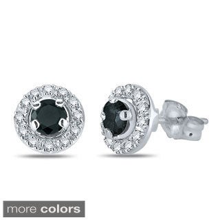 10k White Gold 1/2ct TDW Diamond Removable Jacket Stud Earring (H-I, I2-I3)