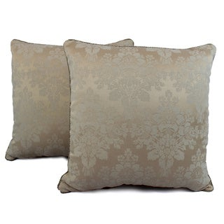 Sherry Kline Iris Ivory Decorative Pillows (Set of 2)