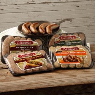 Colosimo Bratwurst Sausage Variety Pack