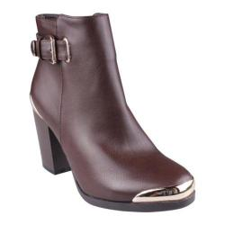 Women's Beston Apollo-WW Brown Faux Leather