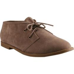 Women's Beston Toby-01 Taupe Faux Suede