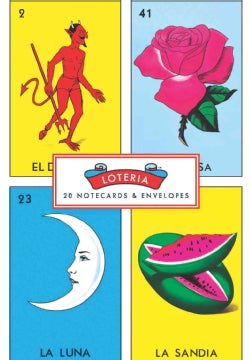 Loteria: 20 Notecards & Envelopes (Cards)