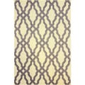 nuLOOM Modern Indoor/ Outdoor Lattice Trellis Grey Rug (9' x 12')