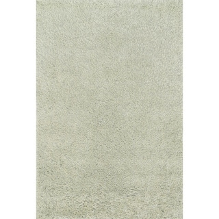 Hand-tufted Dream Sage Shag Rug (3'6 x 5'6)