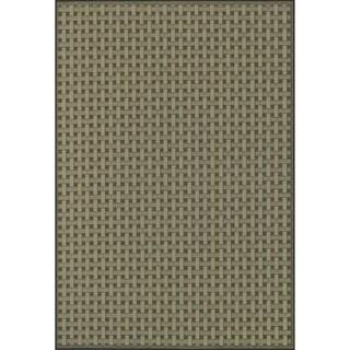 Biscayne Brown/ Beige Indoor Outdoor Rug (2'4 x 3'9)
