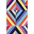 nuLOOM Hand-tufted Modern 3D Multi Rug (5' x 8')