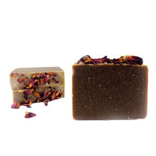 Handmade Romantic Rose 4-ounce Moisturizing Soap Bar
