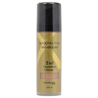 Max Factor Ageless Elixir 50 Natural 2-in-1 Foundation + Serum