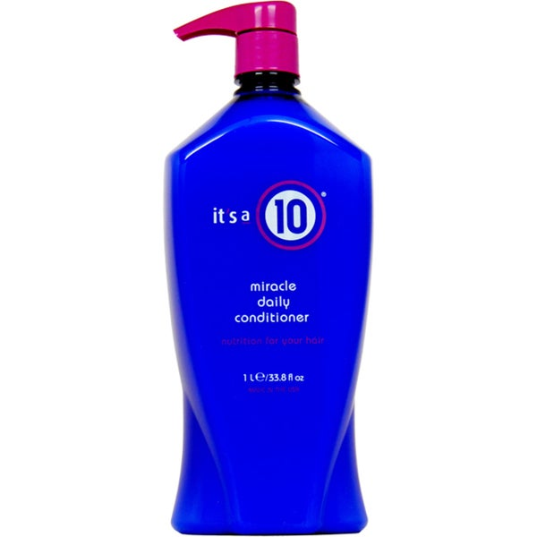 It's a 10 33.8-ounce Miracle Daily Conditioner