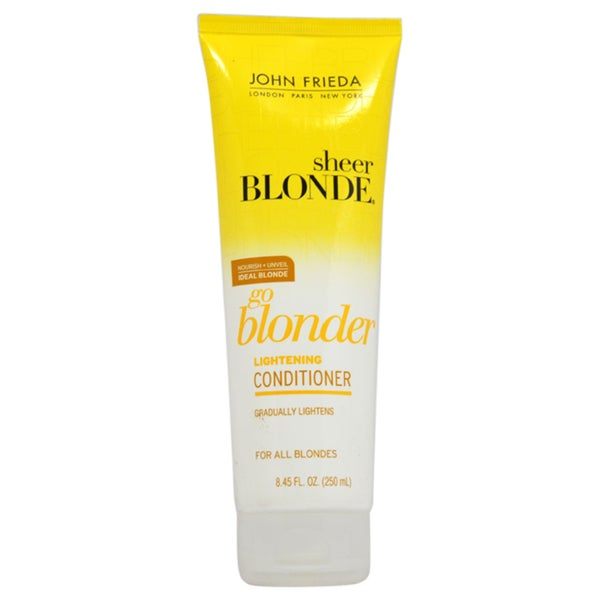 John Frieda Sheer Blonde Go Blonder 8.45-ounce Lightening Conditioner