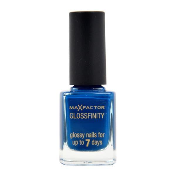 Max Factor Glossfinity #140 Cobalt Blue Nail Polish