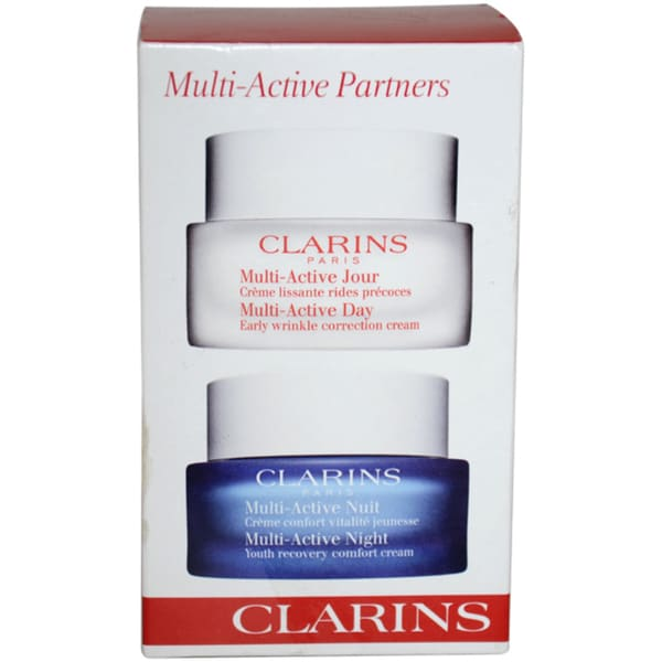 Clarins Multi-Active Partners 2-piece Kit