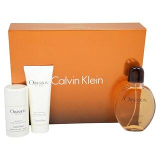 Calvin Klein Obsession Men's 3-piece Gift Set