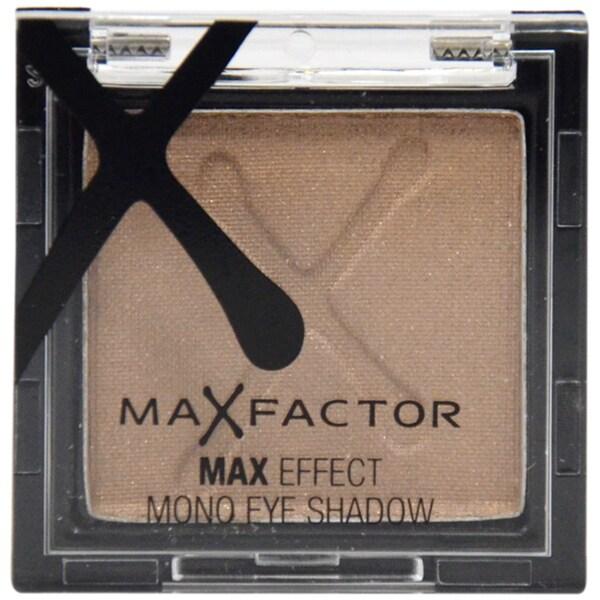 Max Factor Max Effect Metallic Brown Eyeshadow