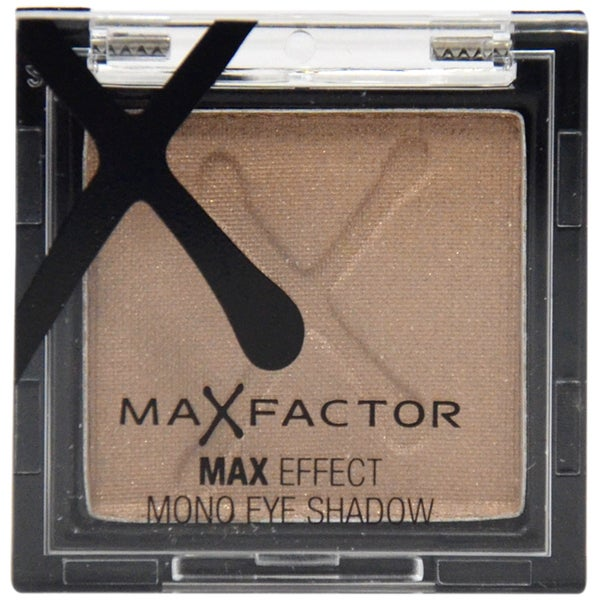 Max Factor Max Effect Metallic Brown Eyeshadow