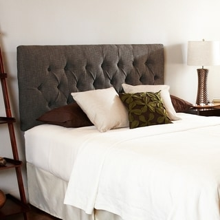 Humble + Haute Hampton Chocolate Full Diamond Tufted Upholstered Headboard