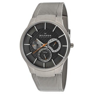 Skagen Men's Titanium Multi-Functional Grey Chronograph Watch