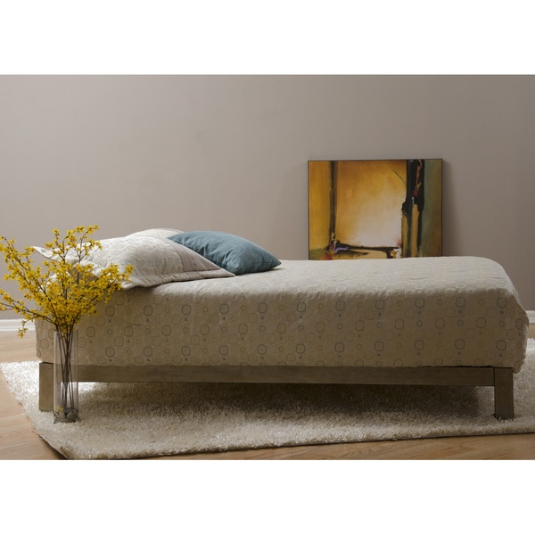 Aura Gold Platform Bed