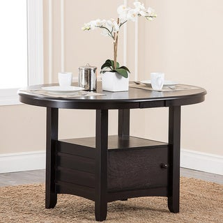 Abbyson Living Sorrento Espresso Dining Table