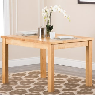 Abbyson Living Venice Oak Finish Dining Table