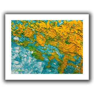 Byron May 'Summer Breeze' Unwrapped Canvas Wall Art
