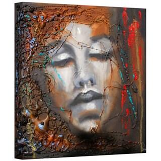Susi Franco 'No More Sorrow' Gallery-wrapped Canvas Art