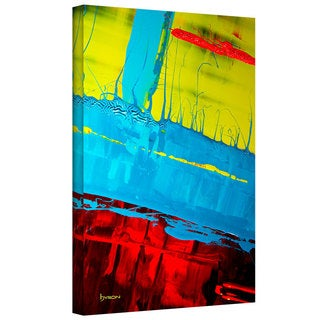 Byron May 'Boundaries' Gallery-wrapped Canvas Art
