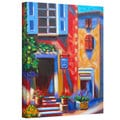 Susi Franco 'Caf� Tino' Gallery-wrapped Canvas Wall Art