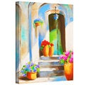 Susi Franco 'Tuscan Morning Stillness' Gallery-wrapped Canvas Wall Art