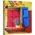 Susi Franco 'Venentian Window' Gallery-wrapped Canvas Wall Art