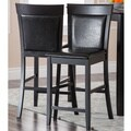 Abbyson Living Alexander Bicast Leather Counter Stools (Set of 2)