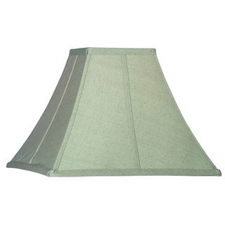 Design Match 15-inch Sage Flared Square Shade