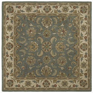 Scarlett Multi Kashan Hand-Tufted Rug (11'9 x 11'9 Square)