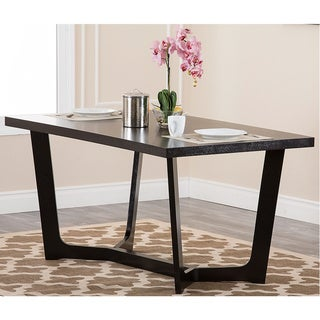 Abbyson Living Manning Espresso Finish Dining Table