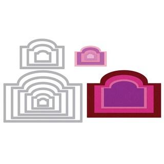Sizzix Framelits Labels/ Ornate #4 Die Set (9 Pack)