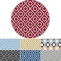 Metro 1025 Multicolored Contemporary Area Rug (5'3 Round)
