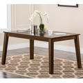 Abbyson Living Nova Cappuccino Dining Table