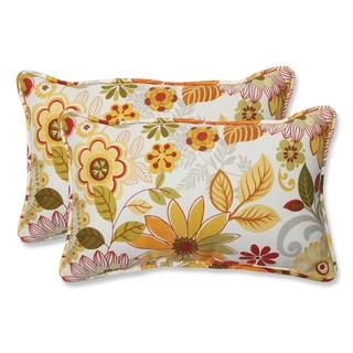 Pillow Perfect 'Gaya Multi' Rectangular Outdoor Throw Pillow (Set of 2)